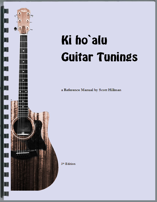 Slack Key Guitar Tunings